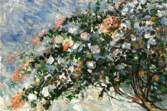 lukisan-sunarno-bougenville