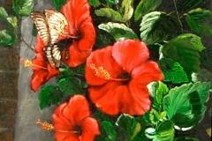 lukisan-sunarno-bunga_sepatu